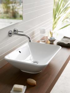 Installationsvorschlag: Aufsatz-Waschschale Bacino