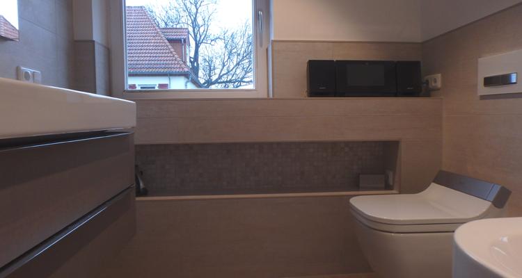 Badsanierung: Schritt 3 - Badumbau und Installation der gewünschten Sanitär-Elemente aus einer Hand